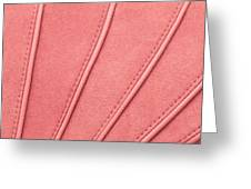 Pink Moleskin Greeting Card