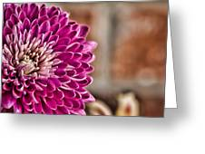 Pink Mum Greeting Card