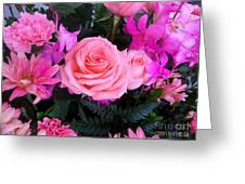 Pink Pink Love Is Pink Greeting Card