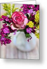 Pink Power Greeting Card
