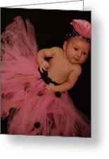 Pink Precious Greeting Card