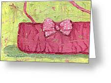 Pink Purse Party Greeting Card