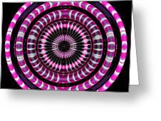 Pink Rings Greeting Card
