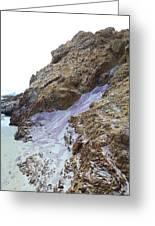 Pink Sand Of Pfeiffer Beach Greeting Card by Viktor Savchenko