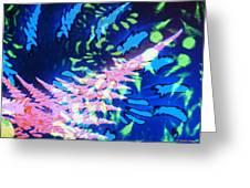 Pink Tea Leaf Erickson Greeting Card
