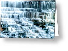 Pinnacle Lake Dam Greeting Card