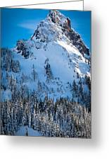Pinnacle Peak Winter Glory Greeting Card