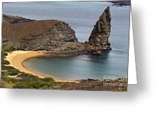 Pinnacle Rock Galapagos Greeting Card