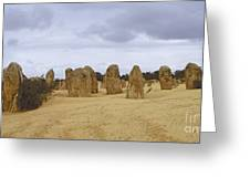 Pinnacles Australia Greeting Card