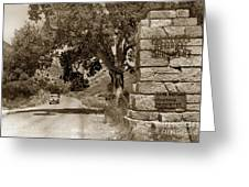Pinnacles National Monument California Circa 1946 Greeting Card