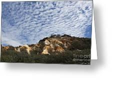 Pinnacles Of Fraser Island Greeting Card by Linda Lees