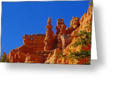 Pinnacles Of Red Rock Greeting Card
