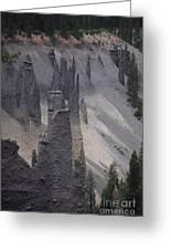 Pinnacles Valley Greeting Card