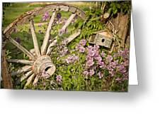 Pioneer Blossoms - Casper Wyoming Greeting Card