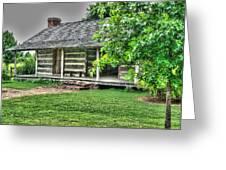 Pioneer Cabin 21 Greeting Card