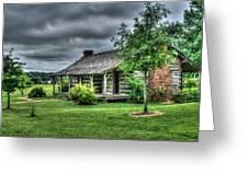 Pioneer Cabin 25 Greeting Card