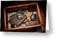 Pioneer Keepsake Box Greeting Card