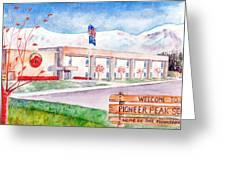 Pioneer Peak Elementary School Greeting Card