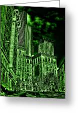 Pioneer Square In The Emerald City - Seattle Washington Greeting Card