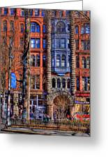 Pioneer Square No.1 Greeting Card