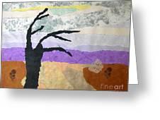 Pipal Tree Greeting Card