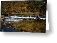 Pipe Creek Falls Greeting Card