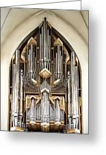 Pipe Organ Greeting Card