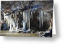 Pipecreek Icicles Greeting Card
