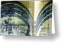 Piped Abstract Greeting Card