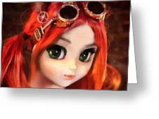Pippi Greeting Card