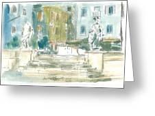 Piran - Square 1st May Greeting Card