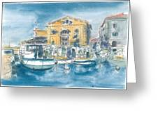 Piran - Tartini Theatre Greeting Card