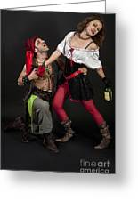 Pirate Couple 1 Greeting Card