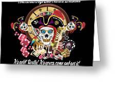 Pirate Lafitte Lake Charles La Throw Pillow Greeting Card