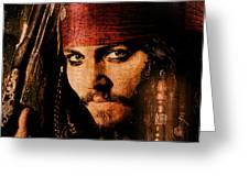 Pirate Life - Rum Sunset Greeting Card