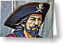 Pirate Man Greeting Card