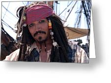 Pirate With Kind Eyes Greeting Card