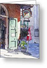 Pirates Alley 161 Greeting Card