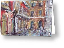 Pirate's Alley Greeting Card