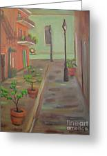 Pirates Alley Greeting Card