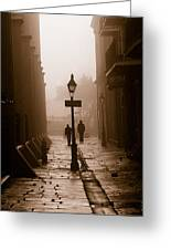 Pirate's Alley  New Orleans Greeting Card