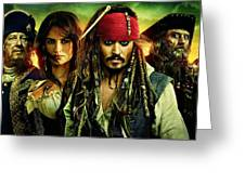 Pirates Of The Caribbean Stranger Tides Greeting Card