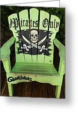 Pirates Only Greeting Card