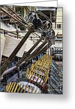 Pirn Winding Machine Greeting Card