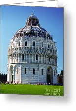 Pisa Basilica Greeting Card