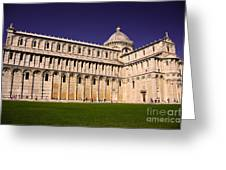 Pisa Cathedral Greeting Card