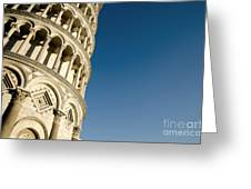 Pisa Tower Greeting Card