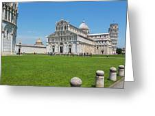Pisa, Tuscany, Italy.  Cathedral Greeting Card