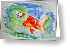 Pisces Greeting Card