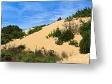 Piscinas Dunes - Sardinia. Italy Greeting Card